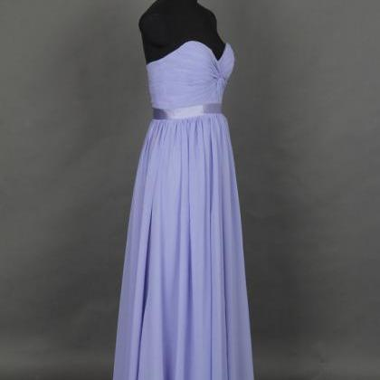 Purple Long Prom Dresses, Real Pict..