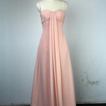 Long Modest Prom Dresses, Strapless..